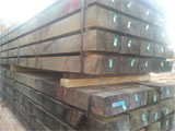 200x100 H4 Treated Pine landscape sleepers